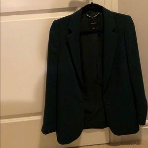 artizia babaton size 2 forest green blazer